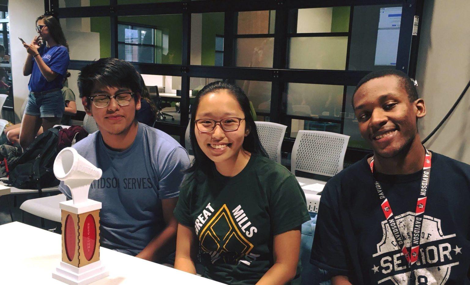 The Jay Hurt Hub for innovation and entrepreneurship at Davidson College