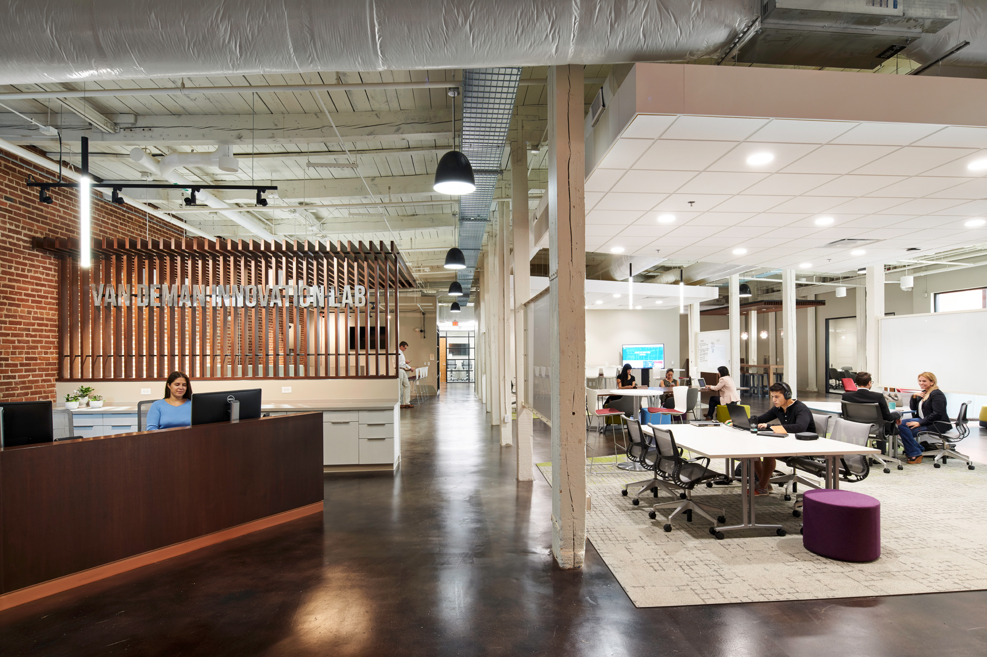 The Jay Hurt Hub for innovation and entrepreneurship at Davidson College