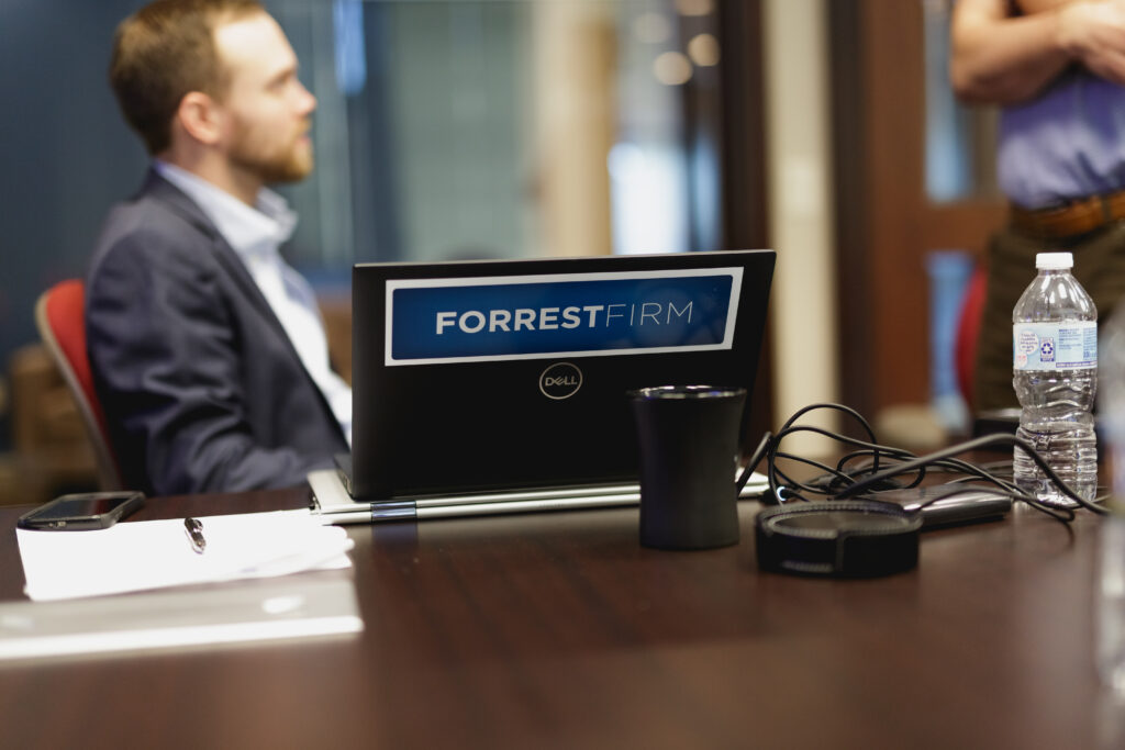 LEGAL OFFICE HOURS: FORREST FIRM